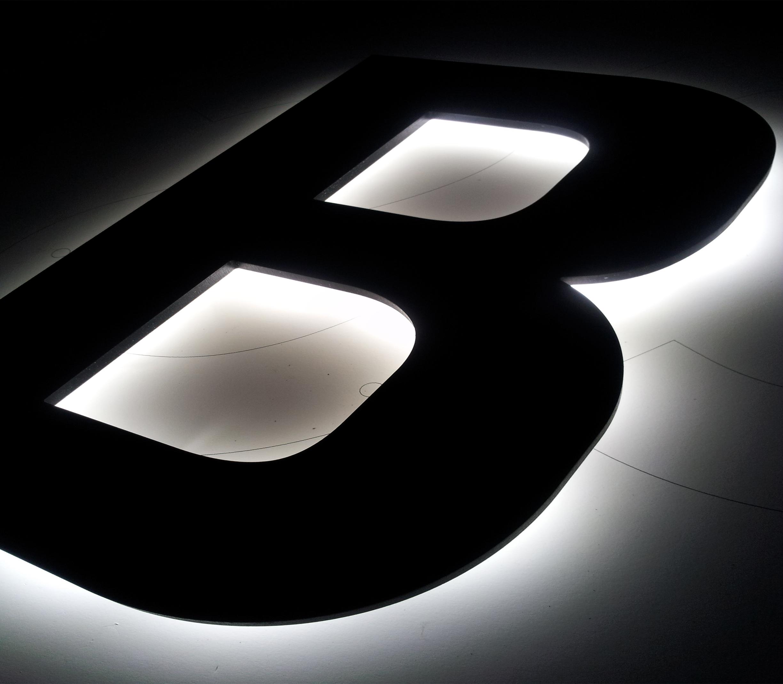 Leuchbuchstaben Profil 5 Deluxe